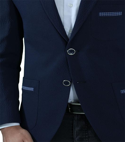 slim fit herren sakko in blau herrenanzug anzug hochzeit. Black Bedroom Furniture Sets. Home Design Ideas