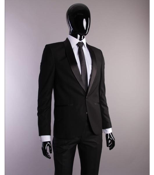 schwarz slim und regular fit br utigam anzug herrenanzug b hne. Black Bedroom Furniture Sets. Home Design Ideas